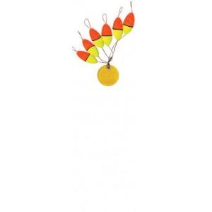 Ignesti segnafilo Oval Float Bicolore 6 pezzi per conf.